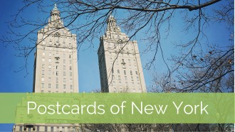 postcards of New York City