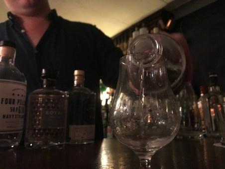 gin tasting Merchant London