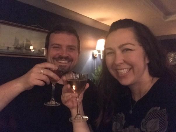 gin tasting london at Merchant