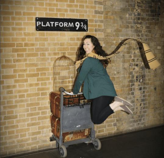 platform 9 3/4 London