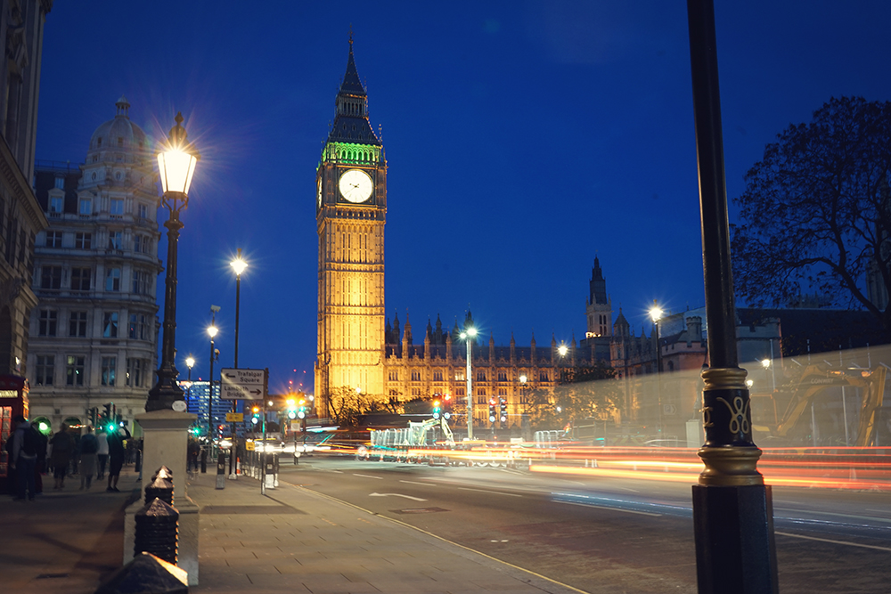 long exposure london big ben