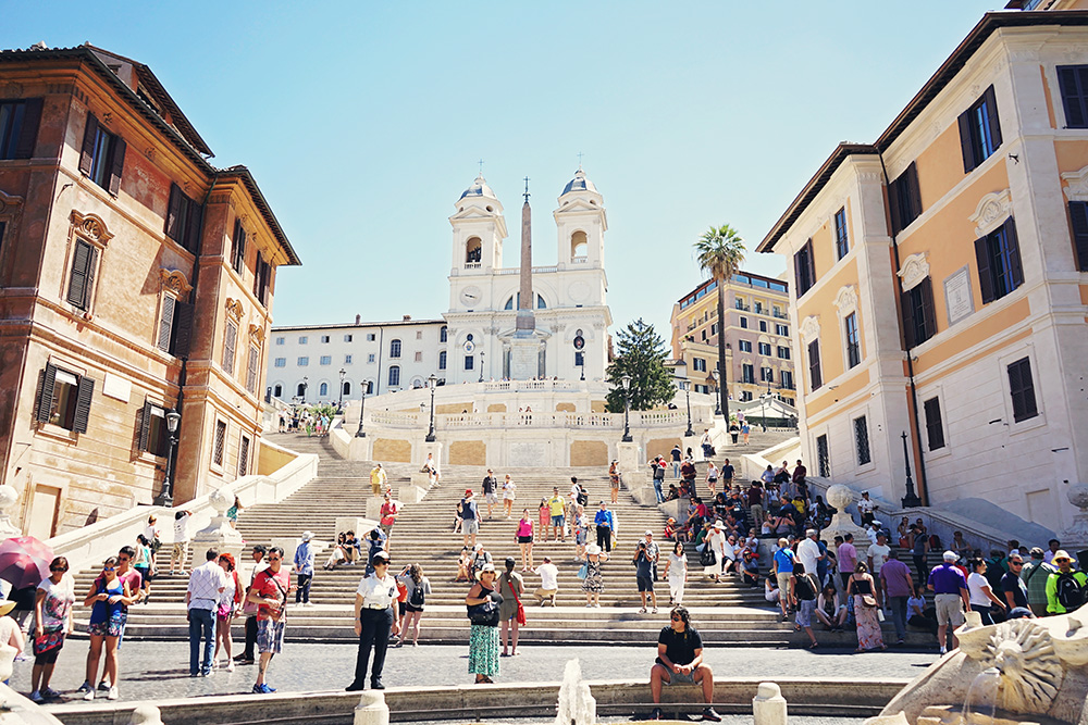 Spanish steps Rome Italys
