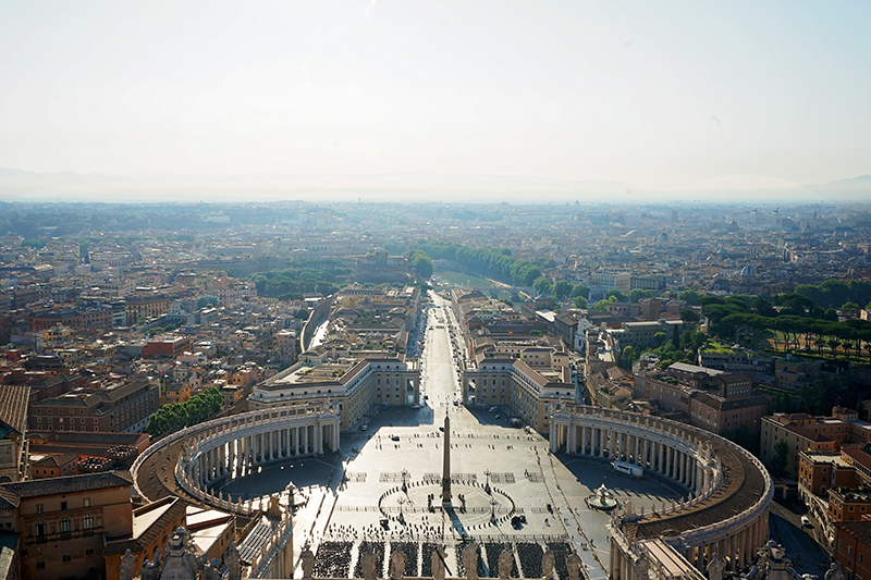 view from st peters dome