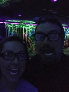 3D Blacklight Minigolf