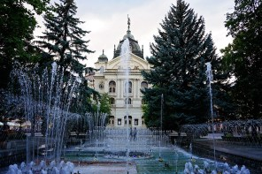 kosice singing fountain