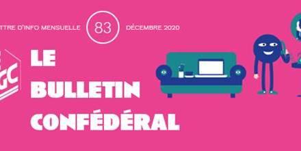 Bulletin confédéral n°83 – Décembre 2020