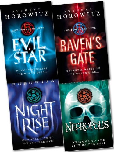 The Power Of Five 4 Books Collection Set Pack New Anthony Horowitz 9781780489124 Buy Books
