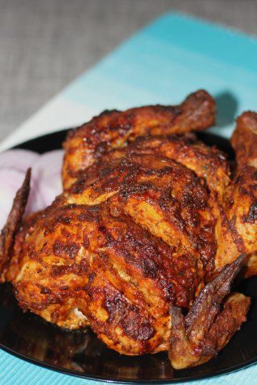 Oven baked tandoori chicken