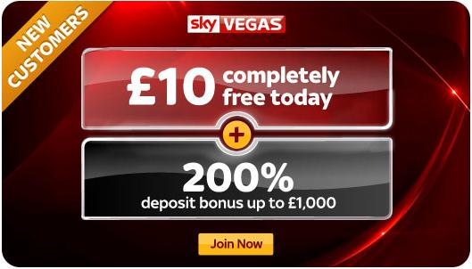 SkyVegas - Welcome Offer