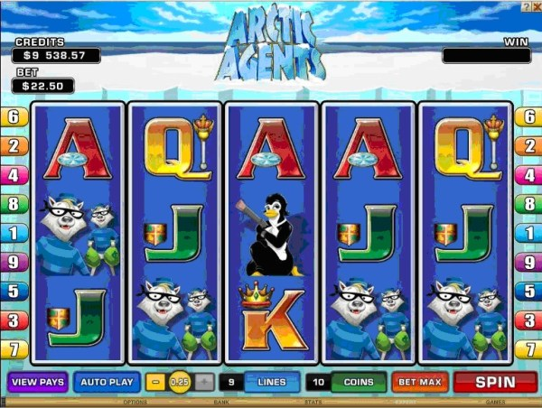 Arctic Agents - New Microgaming Slot