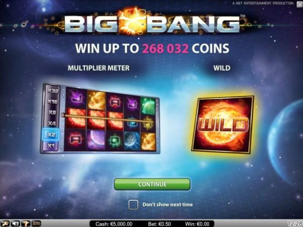 Big Bang Online Slot - NetEnt - Rizk Online Casino Sverige
