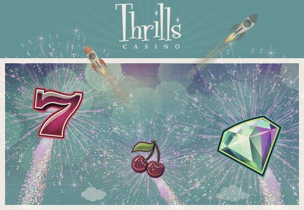 Thrills Casino - Up to 75 Free Spins