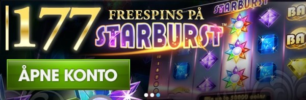 NorgesCasino 177 Free Spins