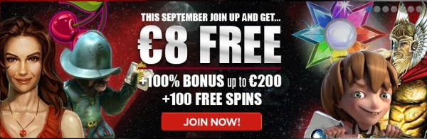 NextCasino 8 Euro Free