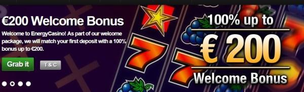 Energy Casino 5 Euro No Deposit