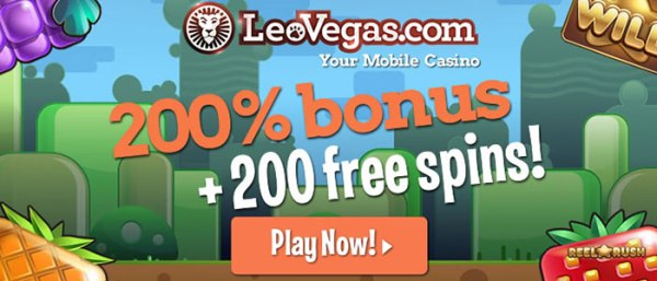 Leovegas Casino 20 Free Spins