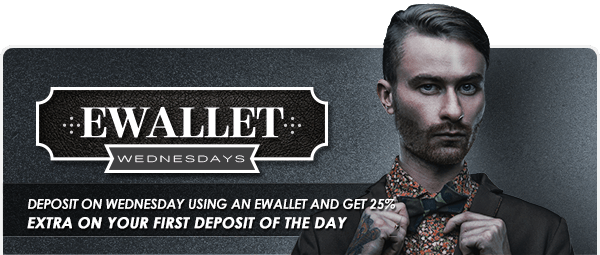 Betat Casino Ewallet Wednesdays