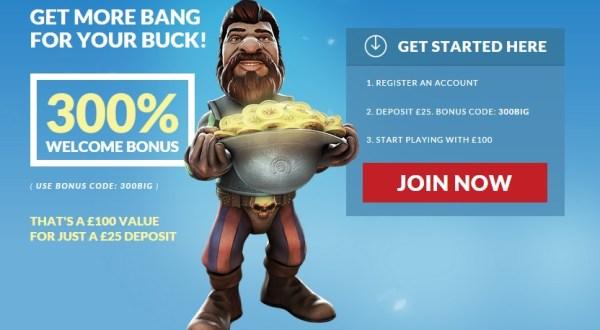 Guts 300 Percent Bonus