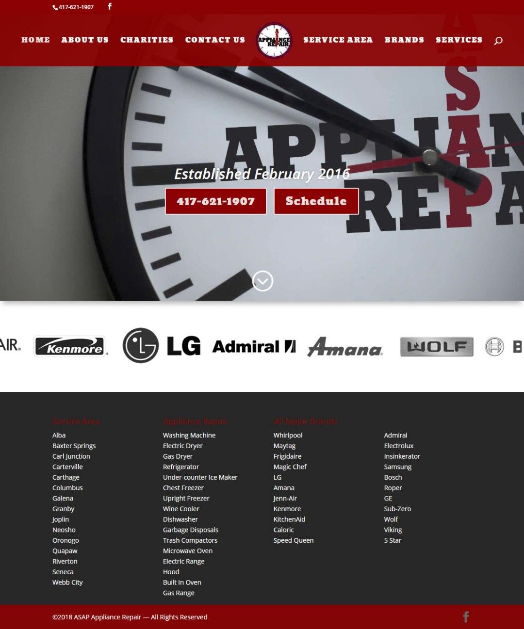MO, KS, OK, AR Business Website