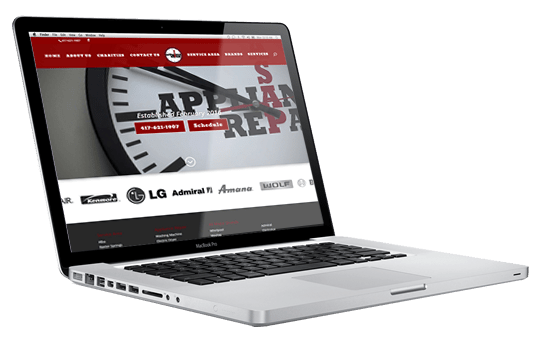 Website Design - ASAP Appliance Repair