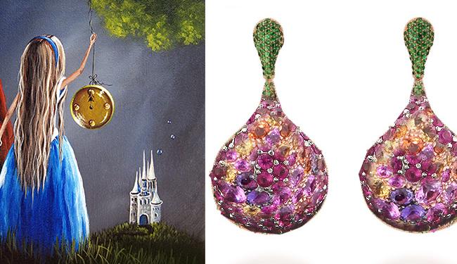 Affordable Price Ruby Emerald Sapphire Amp Halo Diamond