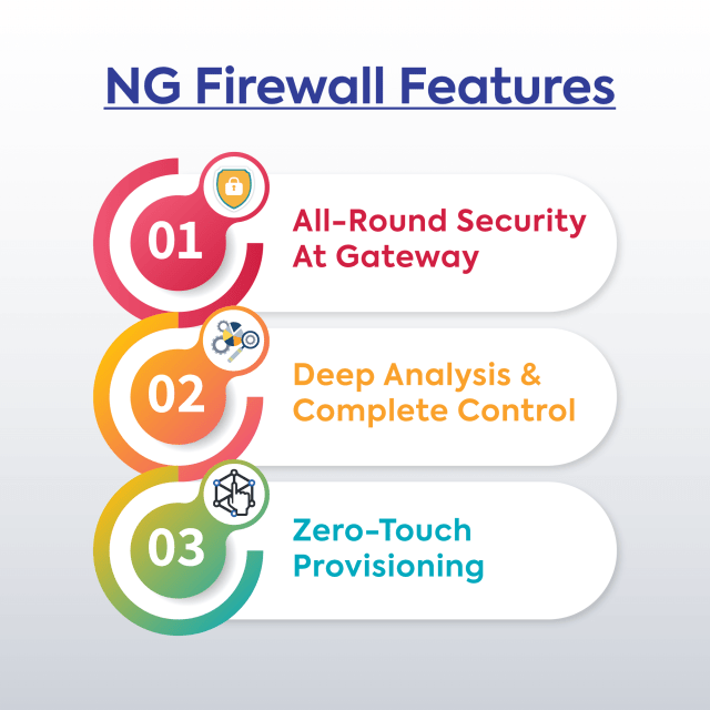 The most important features of the NG Firewall