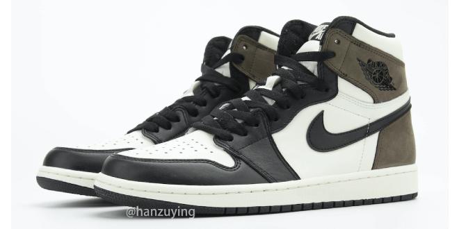 Nike Air Jordan 1 High - Dark Mocha (555088-105)