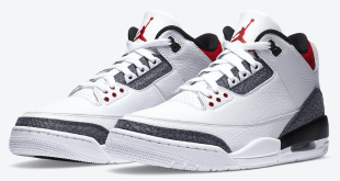 Nike Air Jordan 3 SE Denim - Fire Red (CZ6431-100)