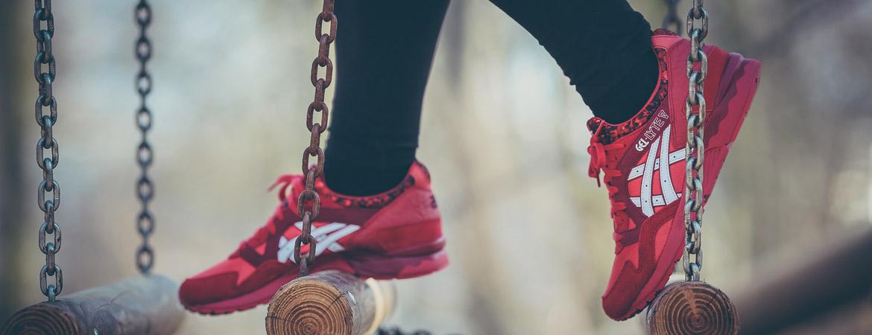 Sneaker Zimmerde Asics Gel Lyte V Valentines Day