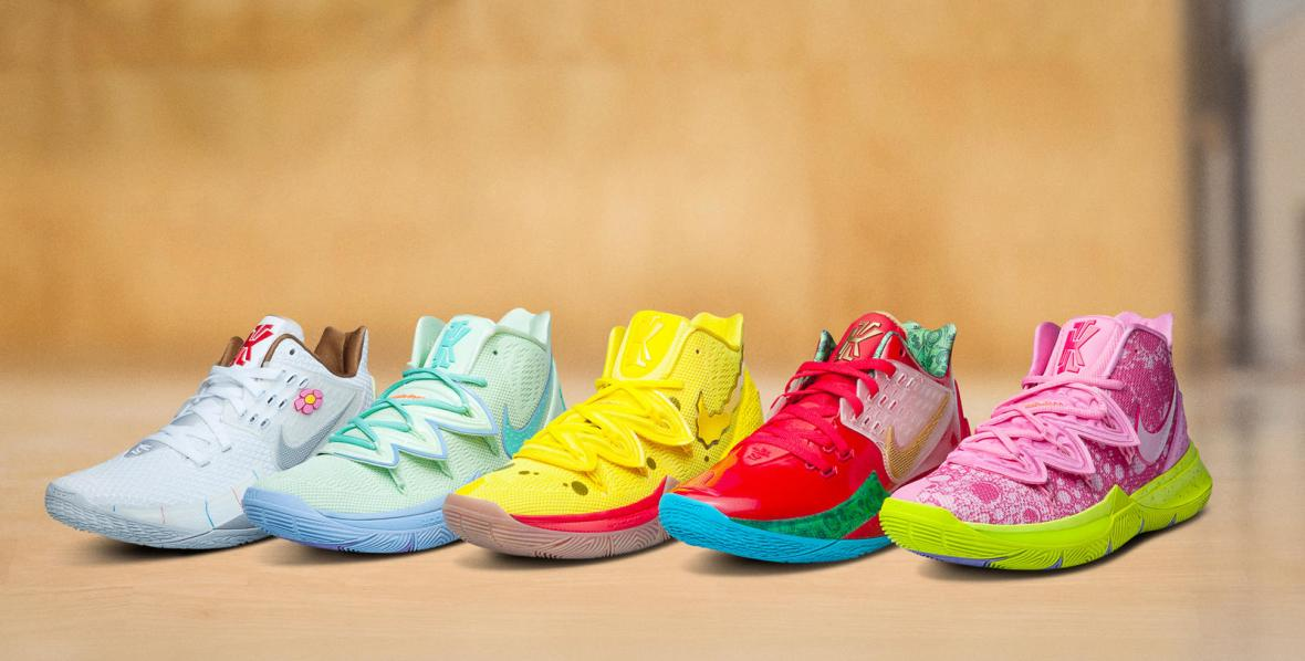 nike-kyrie-x-spongebob-squarepants-collection