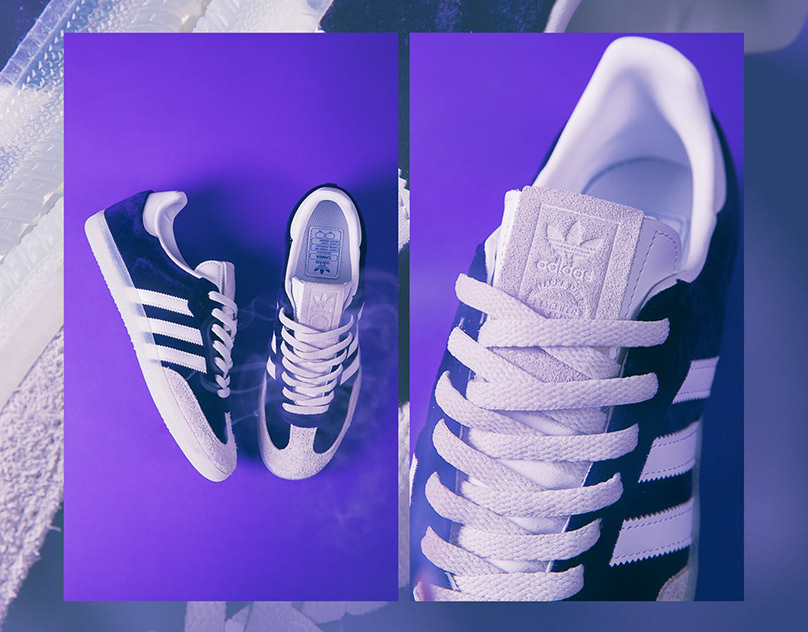 "adidas Originals Samba 4/20 ""Purple Haze"""