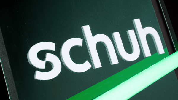 schuh – rebrand of UK shoe retailer