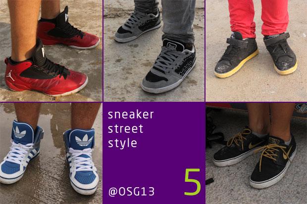 Sneaker Street Style @ OSG13 - ötödik adag a hatból