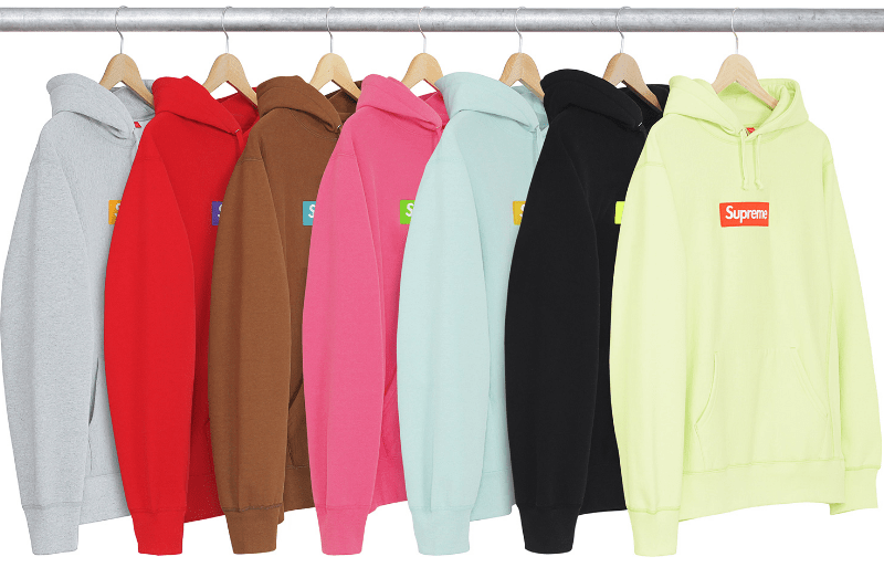 Supreme FW17 - Box Logo Hooded Sweatshirt (Kép: Supreme New York)