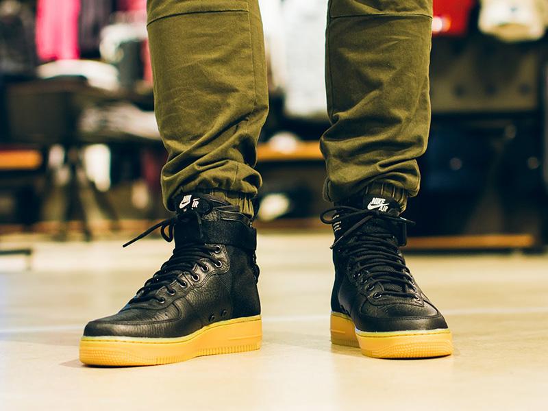 Nike SF-AF1 Mid Black/Gum Light Brown/Black @ Westend 45 990 Ft-ért