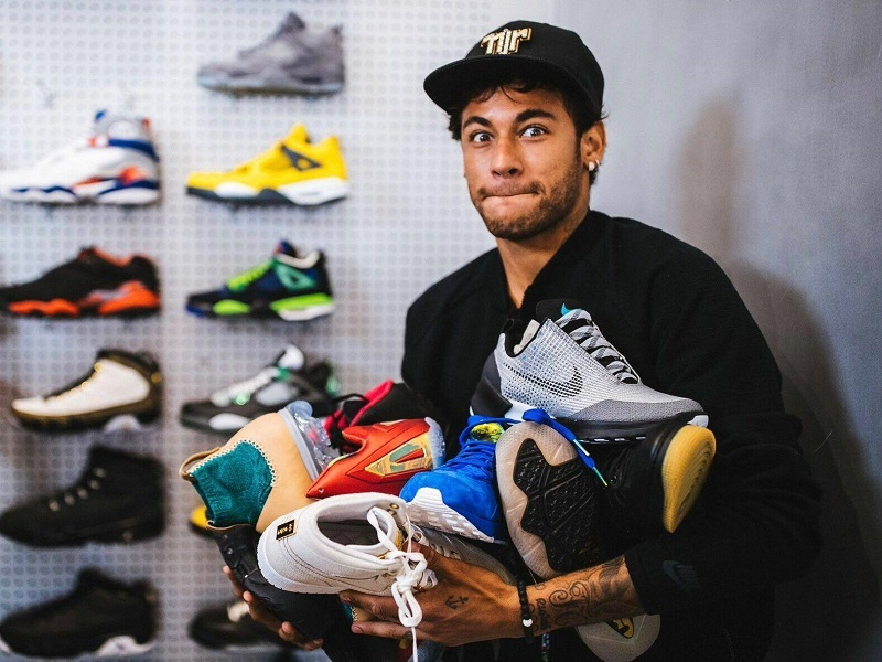 Neymar a Flight Club-ban