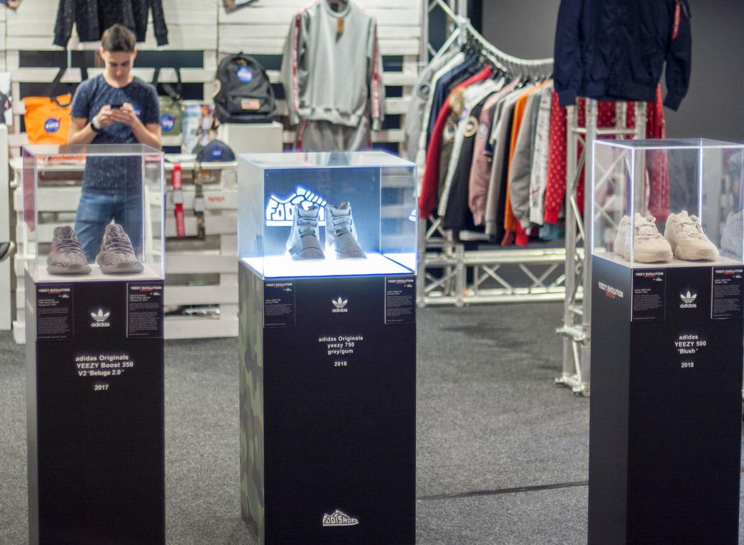 Kicks R Good 08: Yeezy evolution kiállítás a Footshop prezentálásában