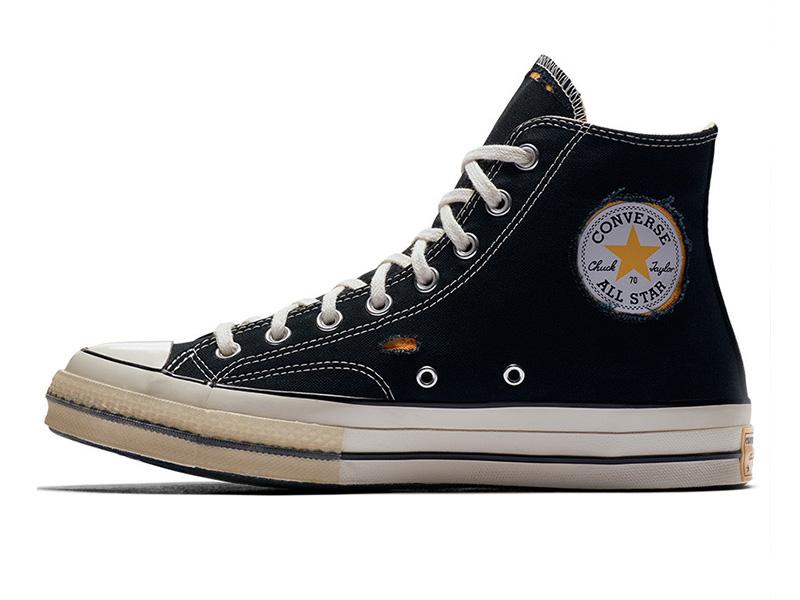 DrWoo x Converse Chuck 70 (Fekete vs Naplemente)