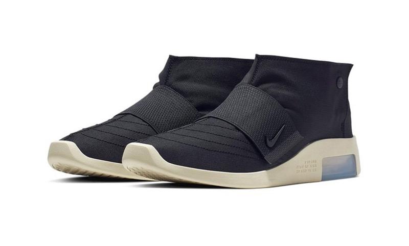 Nike Air Fear of God 180 & Moccasin Black/Black Fossil