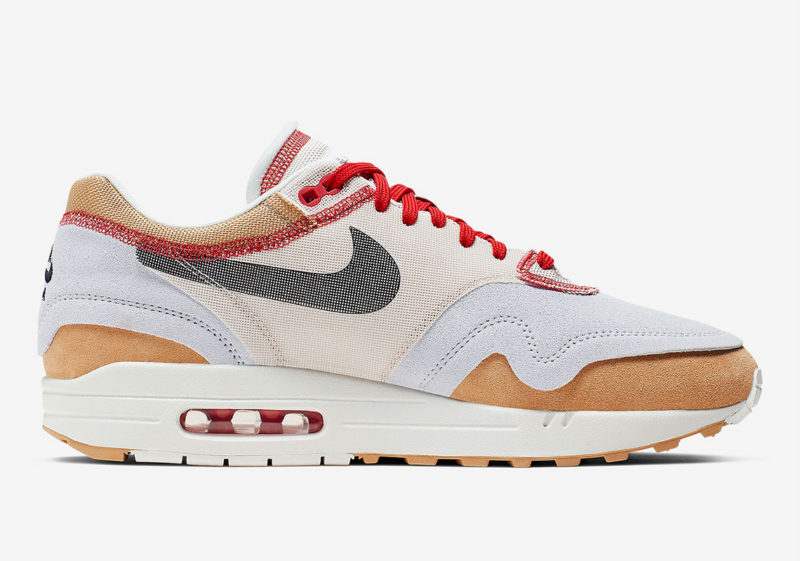 "Nike Air Max 1 ""Inside Out"" Brown/Red"