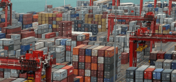 The container yard
