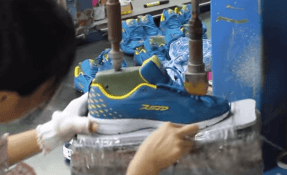 How Shoes are Made Video-SOle_marking