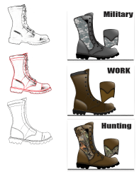 How to draw shoes - Quickly create options