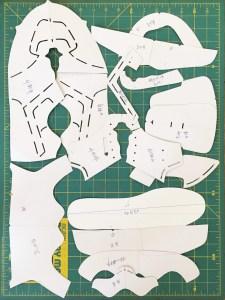 pattern for making shoes, shoe design patterns