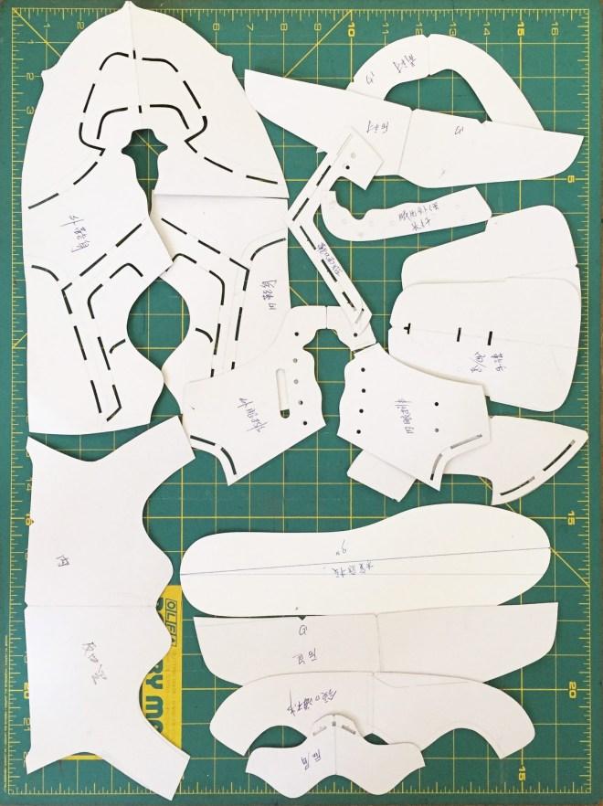 Shoe pattern making process