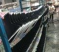 Metal parts in a handBag Factory