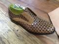 A finished shoe ready for a final polish