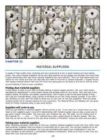 Chapter 21 : Footwear Material Suppliers Working with material suppliers List of top shoe material suppliers