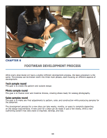 Chapter 6 : Footwear Development Process Footwear sample making Development samples phases