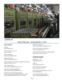 shoe materials supplier sneaker materials list Shoe material vendor list